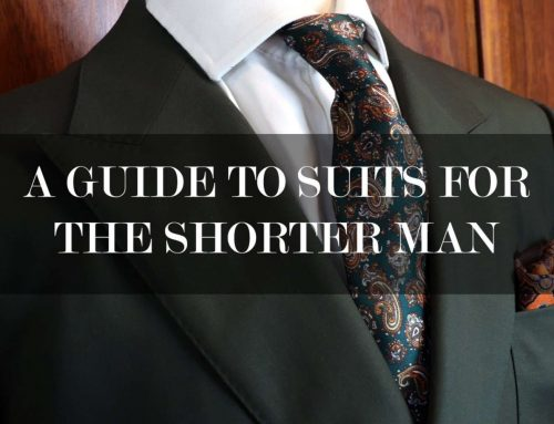 Suits for Shorter Men – A made to Measure Approach