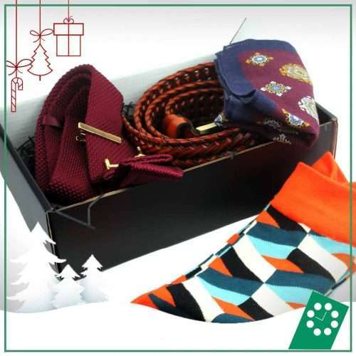 Mens Christmas Gifts - Custom Style Gift Set