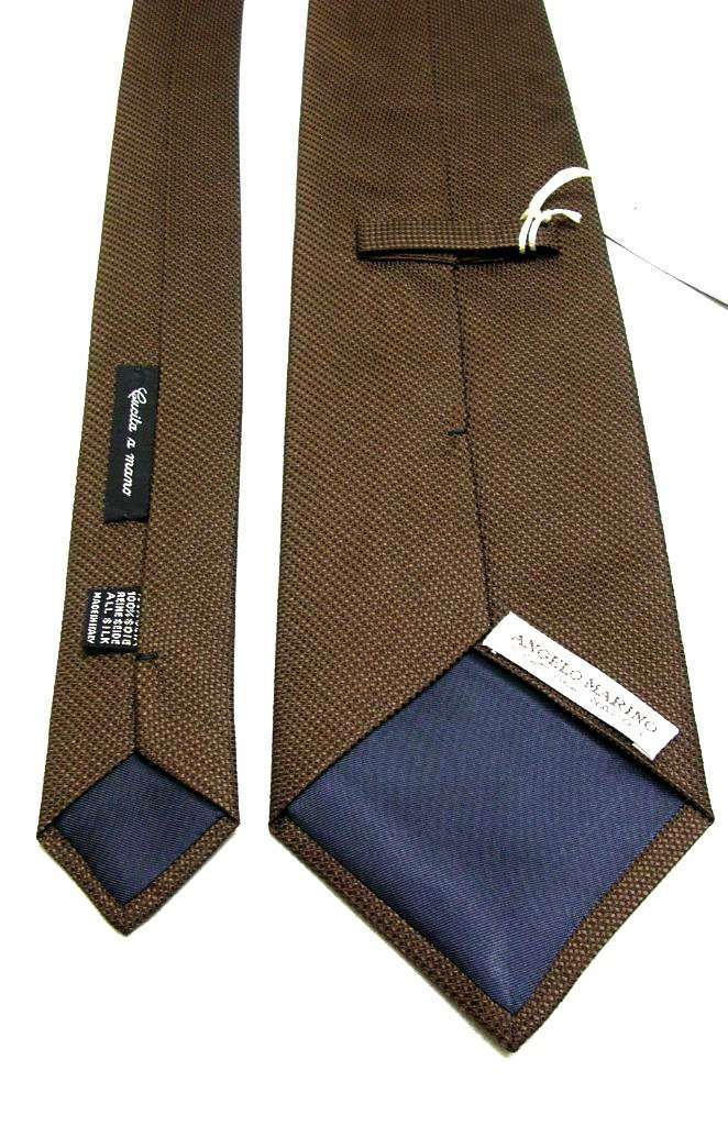 ANGELO MARINO S.CATERINA NAPOLI - VINTAGE BROWN TIE - BACK