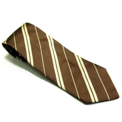 CHURCH'S NORTHAMPTON ENGLAND - BROWN VINTAGE TIE