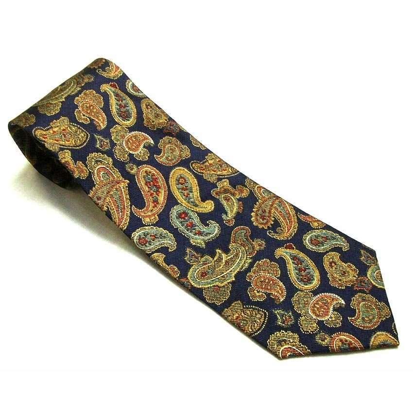 Vintage Mens Ties - Kenzo Homme Silk Tie