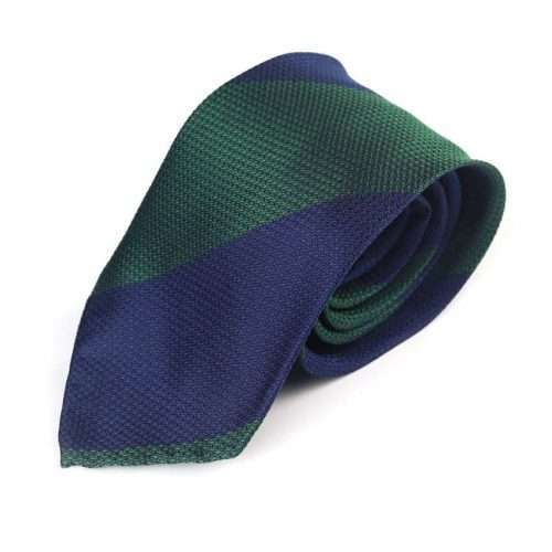 GREEN-NAVY-REGIMENTAL-TIE-MENS-TIES