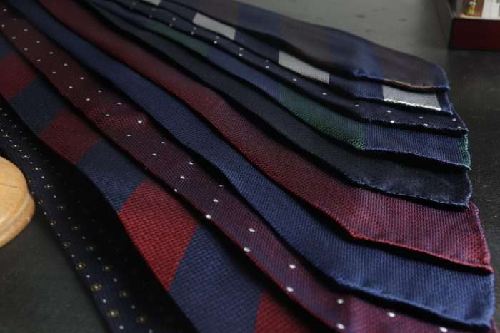 Untipped Ties Ireland - Silk